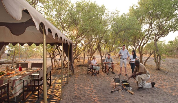 Chobe National Park camp
