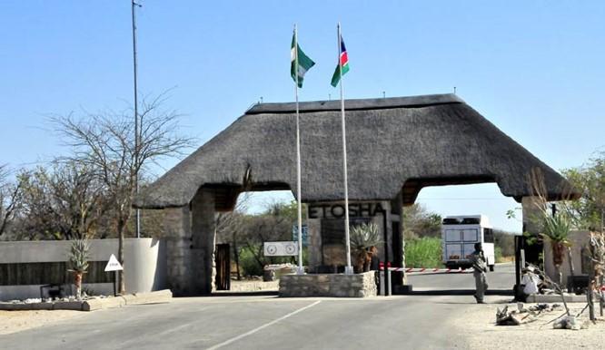 Etosha National Park Gates