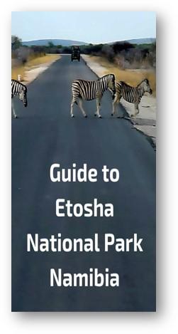 Etosha Nationalpark Information Rules Guidelines
