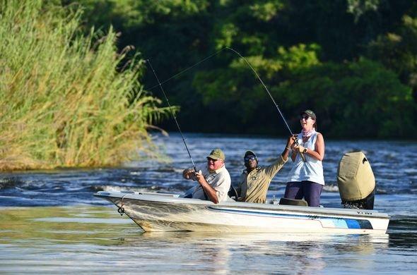 Fishing chobe