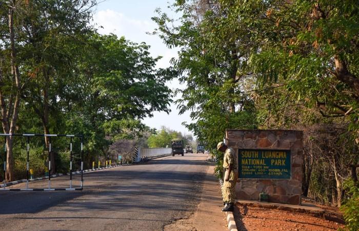south luangwa national park gates